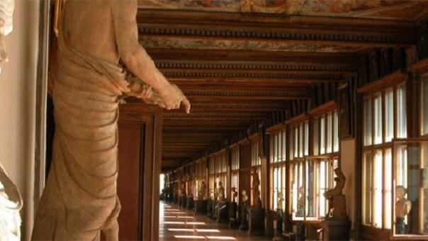 La Gallerie degli Uffizi a Firenze