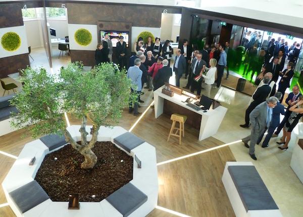 La rinnovata filiale di Chianti Banca a Fontebecci