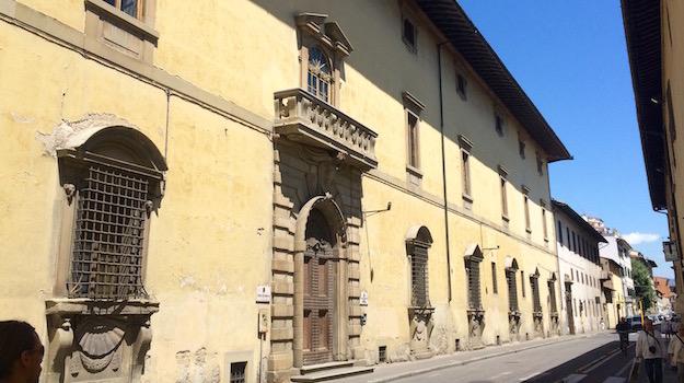 L'ex sede della Corte Appello in via Cavour a Firenze
