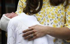 Regno Unito, la royal baby girl si chiama Charlotte Elizabeth Diana