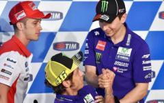 Motomondiale al Mugello: vince Lorenzo, Valentino Rossi è terzo