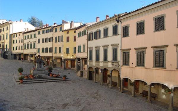 Piazza Tanucci a Stia