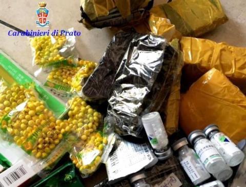 Prato, medicinali sequestrati un uno studio medico illegale