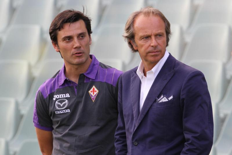 Fiorentina: mille tifosi e Andrea Della Valle all'allenamento ...