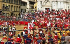 Firenze, Calcio Storico: possibile annullamento della partita se arrivassero forti temporali