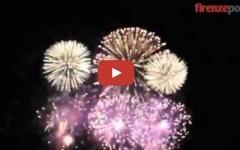 Firenze, il video dei Fochi di San Giovanni 2015. Con finale tricolore