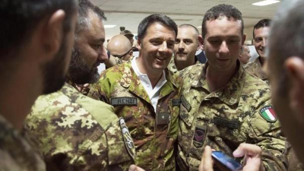 Renzi in Afghanistan