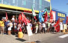 Firenze, sciopero all'Ikea: «Hanno aderito il 90% dei lavoratori»