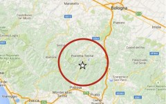 Terremoto di 3,1 gradi sull'Appennino tra Pistoia e Bologna