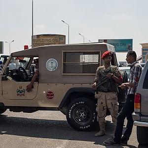L'esercito egiziano nel Sinai