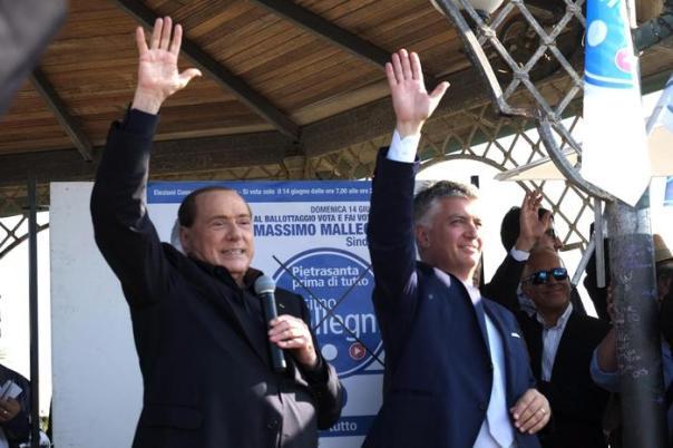 Berlusconi e  Mallegni