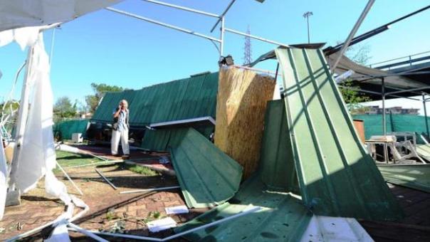 Amianto su tetti e strutture, i danni del nubifragio