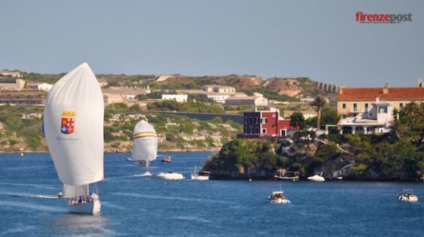 La Marina militare conquista il podio alla regata Vela Clasica Menorca 2015 in Spagna VideoFoto
