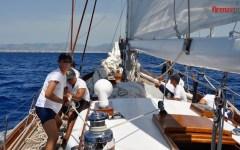 Regata delle Baleari 2015: diario di bordo dalle Navi scuola a vela della Marina Militare (Fotogallery)