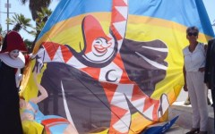 Carnevale di Viareggio al Franchi di Firenze per Fiorentina-Genoa. Bambini gratis in curva. Promozione per studenti