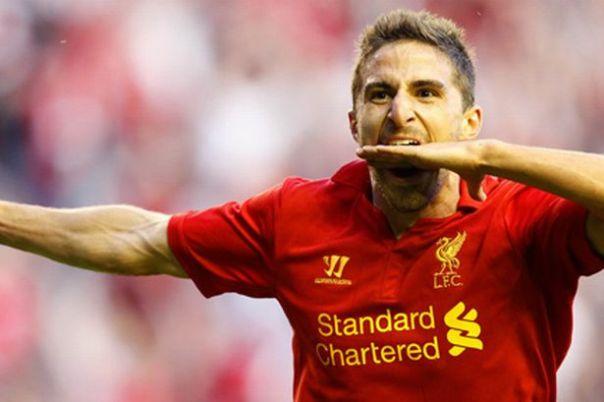Fabio Borini, attaccante 24enne del Liverpool: che chiede 8-9 milioni
