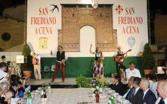 Firenze: San Frediano a cena, il 6 settembre. A Paulo Sousa il Torrino d'oro