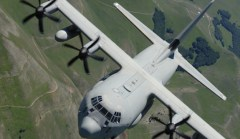 Un C130J della 46ª Brigata Aerea di Pisa