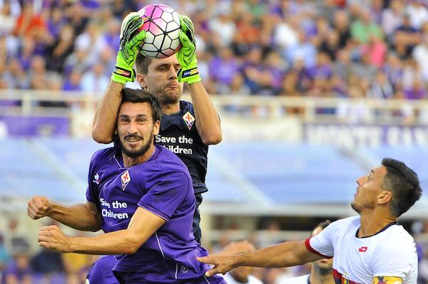 Davide Astori (foto Giacomo Morini) non ha nulla di grave ma può saltare il Frosinone