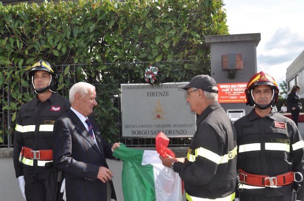 L'inaugurazione del Distaccamento dei Vigili del Fuoco a Borgo san Lorenzo