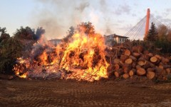Firenze: terzo incendio in tre mesi in una ditta di legnami a San Biagio a Petriolo