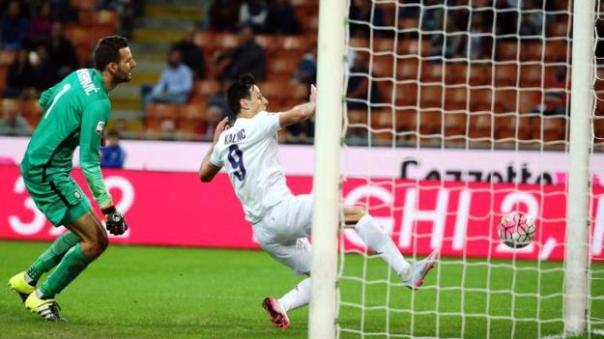 Nikola Kalinic: vuole tornare protagonista, proprio contro l'Inter a San Siro