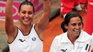 Flavia Pennetta e Roberta Vinci, in finale dopo le due straordinarie vittoria in semifinale