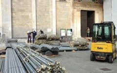 Pisa, Duomo: si montano i ponteggi per il restauro della Cupola