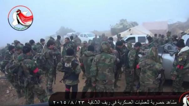 Truppe russe in Siria