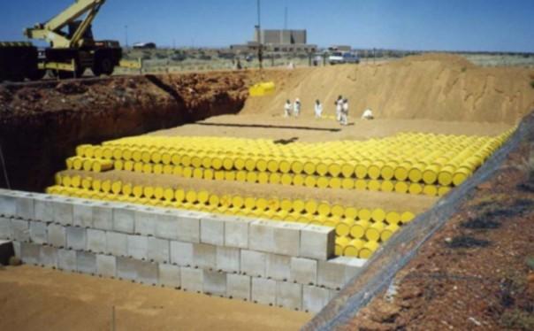 deposito scorie radioattive
