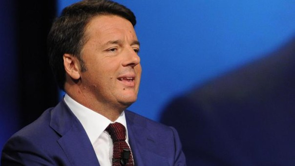 Renzi in Tv