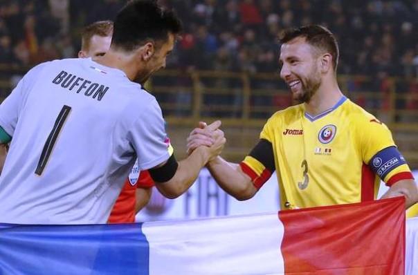 Italia-Romania, Buffon e Rat