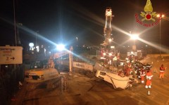 Firenze, tramvia sul viale Guidoni: dopo il crollo della trivella lavori bloccati