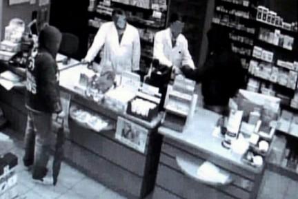 rapina in negozio