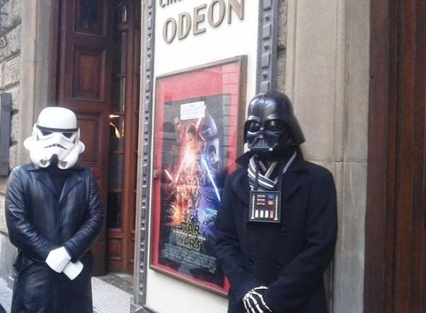 Firenze, al cinema Odeon la prima del nuovo film di Star Wars