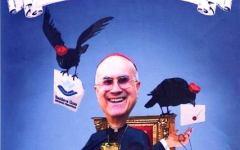 Al Carnevale di Viareggio 2016 la maschera del cardinale Bertone