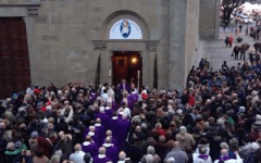 L'apertura della Porta Santa a Fiesole