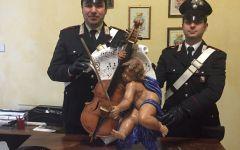 San Casciano Val di Pesa:  russo ruba una statua al cimitero. Arrestato dai carabinieri
