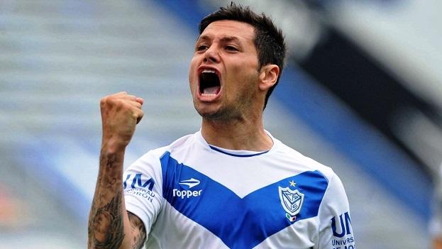 Mauro Zarate, a caccia di un gol contro lo Slovan Liberec