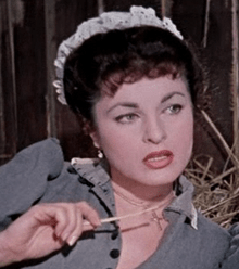 "Silvana Pampanini in ""L'allegro squadrone "" (1954)"