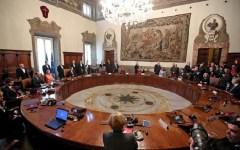 Il Governo sale a 64 membri: un nuovo ministro e 7 sottosegretari. Nominati anche tre viceministri