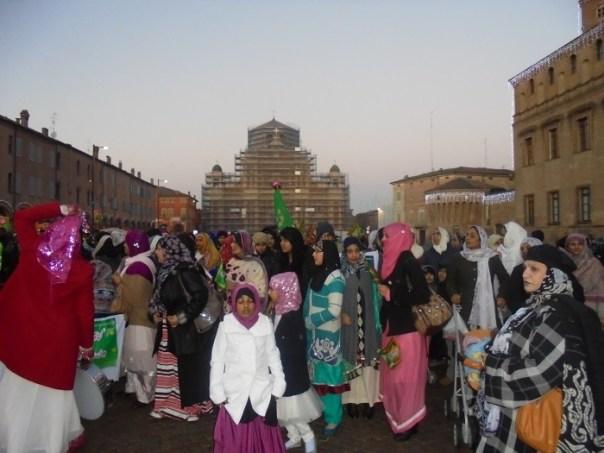 islamici in festa