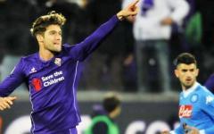 Fiorentina fermata dai legni contro il Napoli: 1-1. Traversa di Kalinic e palo di Tello. Pagelle (Foto)