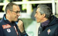 Fiorentina-Napoli, Maurizio Sarri e Paulo Sousa