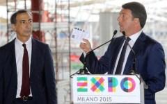 Expo 2015, Renzi: il futuro è un progetto «petaloso». Ma i conti sono in profondo rosso (sotto di 32 milioni)
