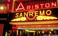 Sanremo: nastri arcobaleno, con Elton John, Gabriel Garko, la Ghenea. Serata tradizionale, ha vinto la musica