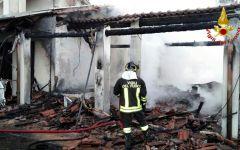 Toscana: fiamme in casa a Santa Maria a Monte e Reggello. Feriti padre e figlio