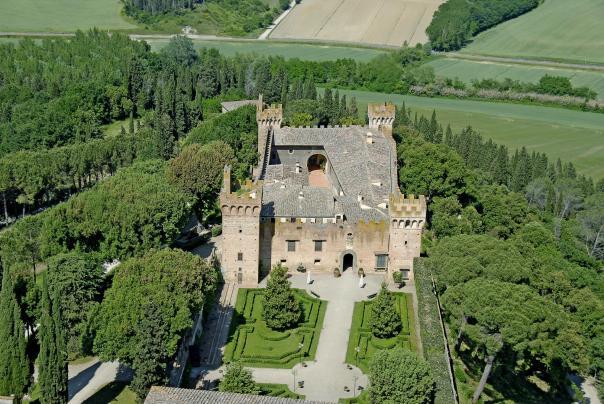 Castello di Oliveto a Castelfiorentino