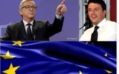 Migranti: l'apertura di Juncker al piano Renzi, si agli eurobond e sicurezza per i rifugiati