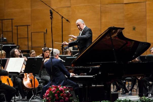 Il Maestro Zubin Mehta e il pianista Sir András Schiff